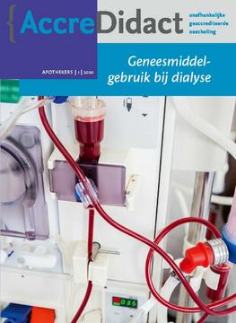 Geneesmiddelgebruik bij dialyse