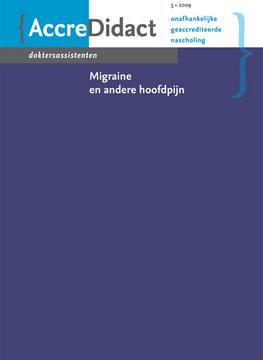 Migraine en andere hoofdpijn