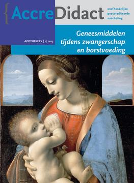 Geneesmiddelen bij zwangerschap en borstvoeding
