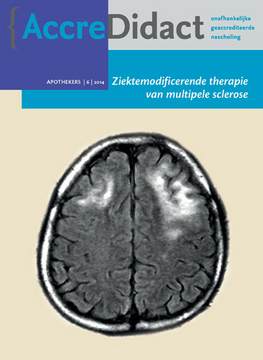 Ziektemodificerende therapie van multipele sclerose