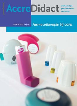 Farmacotherapie bij COPD
