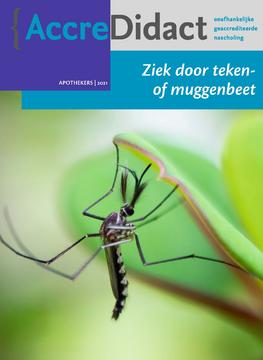 Ziek door teken- of muggenbeet