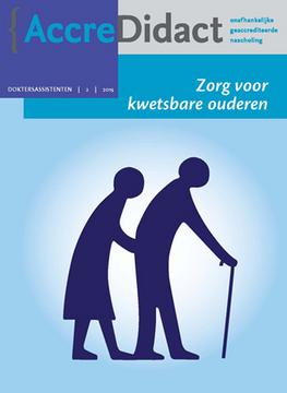 Zorg voor kwetsbare ouderen