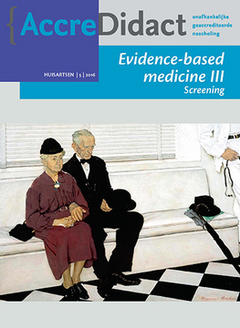 Evidence-based medicine III - Screening