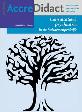 Consultatieve psychiatrie in de huisartsenpraktijk