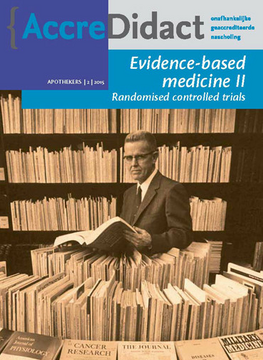Evidence-based medicine: randomised controlled trials