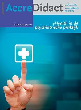 eHealth in de psychiatrische praktijk