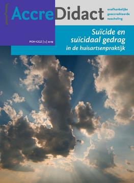 Suïcide en suïcidaal gedrag in de huisartsenpraktijk