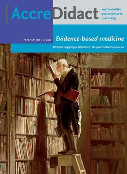 Evidence-based medicine: wetenschappelijke literatuur & systematische reviews