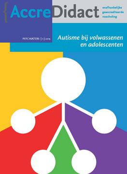Autisme bij volwassenen en adolescenten