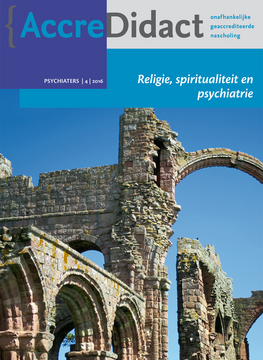 Religie, spiritualiteit en psychiatrie