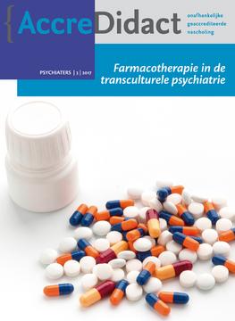 Farmacotherapie in de transculturele psychiatrie