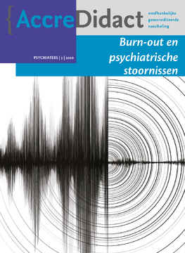 Burn-out en psychiatrische stoornissen