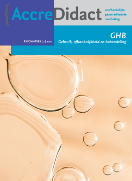 GHB - gebruik, afhankelijkheid en behandeling